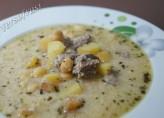 Yoğurtlu Patates Çorbasi
