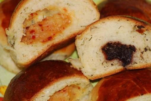 Zeytinli ve Dereotlu Ekmekler