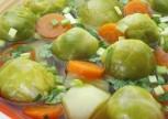 Zeytinyağli Brokoli Bürüksel Lahanasi Yemeği Tarifi