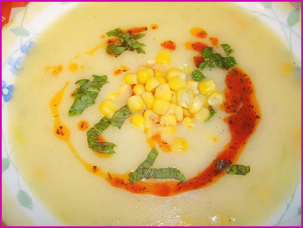 Mısır Çorbası-Ayranlı Çorba-Yoğurt Çorbası